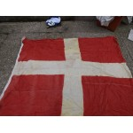 Genuine Army / Navy Extra Large Swiss Naval Flag Red White Cross 250x205cm