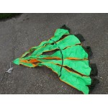 Genuine Surplus Military Drop Zone Marker Florescent Triangle Green Orange (471