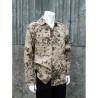 Genuine Surplus German Army Tropentarn Cotton Shirt Flektarn D Military Vintage