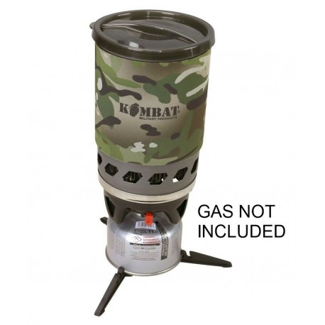 KT Cyclone Stove Camping Military Forces Stove Fast Boil Gas BTP Camo Black