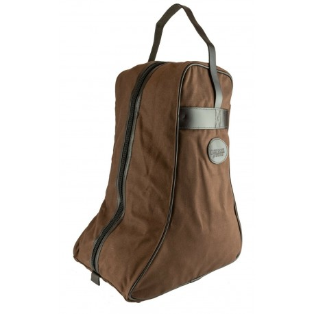 Jack Pyke Canvas Boot Bag Boot Carrier Country Wellington Brown Fawn Green