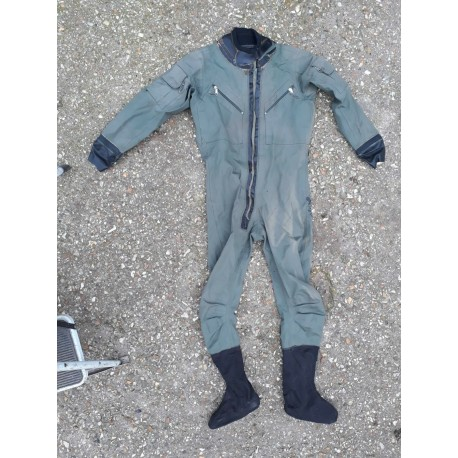 Genuine Surplus RAF Aircrew Immersion Suit Survival Suit Green Olive G2 (480)