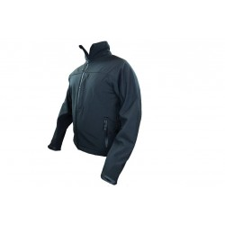 Highlander Odin Water Resistant SoftShell Jacket Black