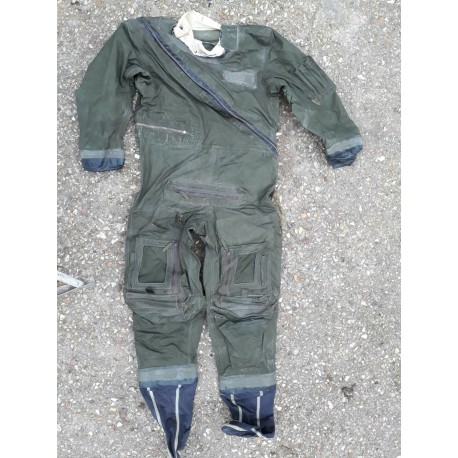 Genuine Surplus RAF Aircrew Immersion Suit Survival Suit Green Olive G2 (483)