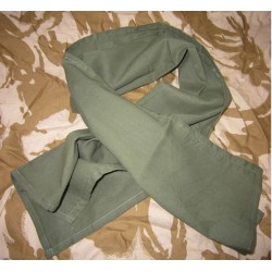 Genuine Surplus British Army Sweat Rag Olive Green Polycotton