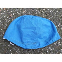 Genuine Surplus NATO Helmet Cover Blue Military Peacekeeping Forces Smal-Med