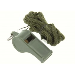 Highlander Referee Whistle Sports Camping Survival Hiking Traditional Pea