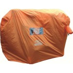 Highlander Emergency Survival Shelter Orange High Vis Rescue Tent Wind Shelter