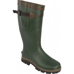 Highlander Moorland Wellington Boot Wellies Adult Mens Olive Green Waterproof