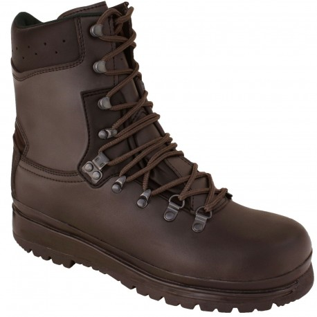 Highlander Eite Forces Boot Adult Mens Brown Leather Waterproof Forces Cadets