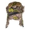 Jack Pyke Tundra Hat EVO Camo Woodland Trapper Hat Faux Fur Trim