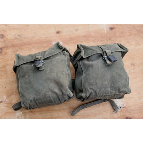 Genuine Surplus Vintage 58 pattern Kidney Pouches Webbing  For Re-enactors
