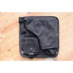 Factory Sample Holster Panel Black Tactical Airsoft 3 x pockets (624)