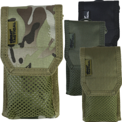 Kombat Phone Sleeve MOLLE Tactical System Pouch Coyote Olive BTP Black