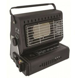 Highlander Compact Heater Portable  Black Gas Camping Caravan