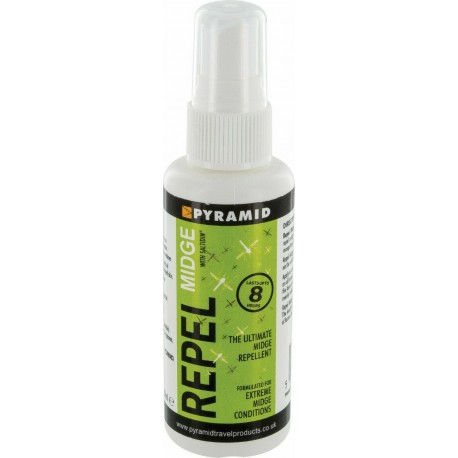 Repel Midge Pump Spray 60ml High Strength Deet Spray Insect Repellent Extreme