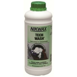 Nikwax Tech Wash 1000ml Wash in Cleaner for Waterproof Fabrics