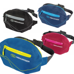 Highlander Tor 4 Waist Pack Bum Bag Fanny Pack Small Bag Pouch Blue Black Red