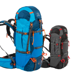Highlander Ben Nevis 65 85 Litre Rucksack Backpack Hiking Walking Blue Black