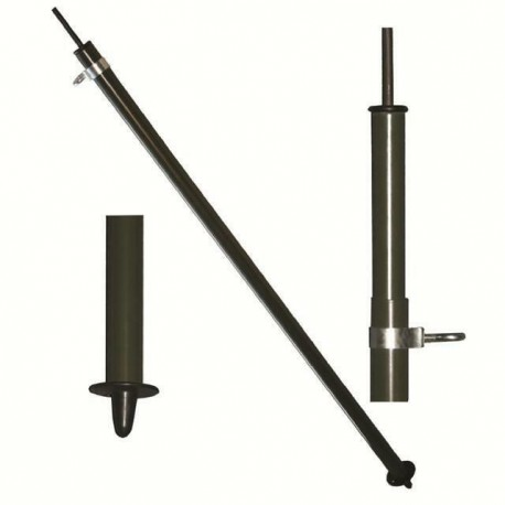 HIGHLANDER ARMY STYLE  CENTURION LX 70-130CM TALL COMPRESSION LOCK BASHA POLE