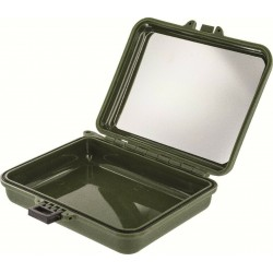 Highlander Water Resistant Survival case Olive Green for Survival kits Cadets