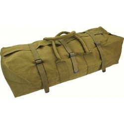 Highlander Rope Handle Tool Bag Cotton Heavy Duty Canvas Strap Top NO ZIP