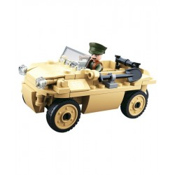 Sluban WWII German Amphibious Car Construction brick set Army Childs Toy B0690