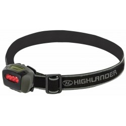 Highlander Mira Head Lamp Torch Headlamp Light Compact 4 LEDs 8 Lumen Red Filter