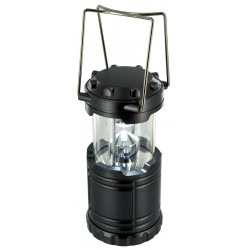 Highlander 7 LED Collapsible Lantern Grey 14 Lumens Folding Compact Camping