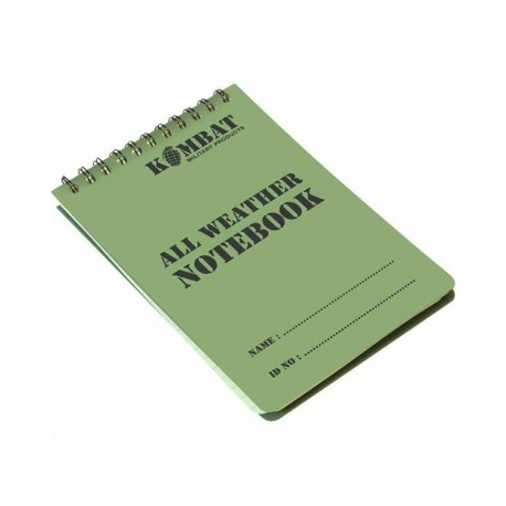 New A6 50 Page Waterproof Notepad  CADETS FORCES RAF Army Scouts