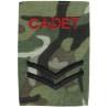 MTP  Compatible BTP Camo Army  ACF Air Cadet ATC CCF Cadet  Corporal Rank Slide