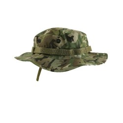 BTP / MTP STYLE CAMO ARMY CADET STYLE WIDE BRIMMED BOONIE HAT SUN HAT AIRSOFT