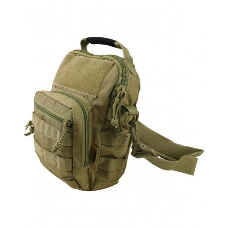 Kombat Hexstop Explorer Shoulder Bag Pack Ripstop Tan Coyote Man Bag Tactical