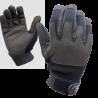 Highlander Mission Lite Military Leather Suede Gloves Black Lightweight