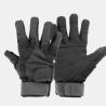 Highlander Mission Military Leather Suede Gloves Black