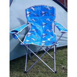 Highlander Airforce Print Chair Typhoon, Lightning, Spitfire, Planes, Camping