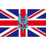SAS Special Forces FLAG 5' x 3' British Army Military Regiment Armed Forces