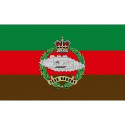 Tank Regiment FLAG 5' x 3' British Army Military Regiment Armed Forces