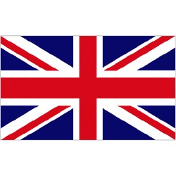 Union Jack FLAG 5' x 3' British Great Britain Red White Blue Patriotic Royal