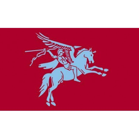 Pegasus Airborne FLAG 5' x 3' British Army Military Regiment Armed Forces