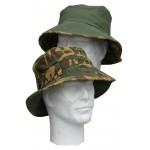 Highlander Reversible Jungle Bush Hat Camouflage Green Sun Hat Wide Brim
