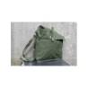 Genuine Surplus Vintage Swedish Army Shoulder Bag Olive Canvas Military