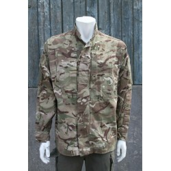 Genuine Surplus British Barrack Shirt Jacket Combat Temperate Weather MTP