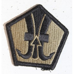 Genuine Surplus US Military Embroidered Cloth Badge Patch Badges Hook Loop (025)