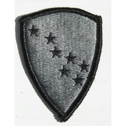 Genuine Surplus US Military Embroidered Cloth Badge Patch Badges Hook Loop (038)