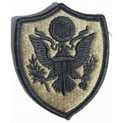 Genuine Surplus US Military Embroidered Cloth Badge Patch Badges Hook Loop (042)