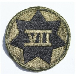 Genuine Surplus US Military Embroidered Cloth Badge Patch Badges Sew On (045)