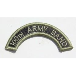 Genuine Surplus US Military Embroidered Cloth Badge Patch Badges Sew On (058)