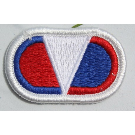 Genuine Surplus US Military Embroidered Cloth Badge Patch Badges Sew On (084)