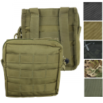 Kombat Medium MOLLE Utility Pouch Zipped Modular Olive BTP Black Coyote